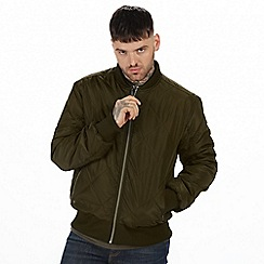 Regatta - Green 'Fallowfield' quilted bomber jacket