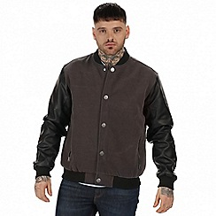Regatta - Grey 'Cornerhouse' bomber jacket