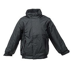 Regatta - Black/ash kids dover jacket