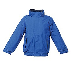 Regatta - Royal blue/navy kids dover jacket