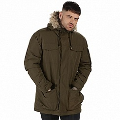 Regatta - Green 'Ardwick' waterproof jacket