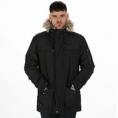 Regatta - Black 'Ardwick' waterproof jacket