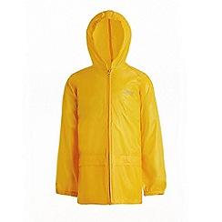 Regatta - Yellow 'Storm break' kids jacket