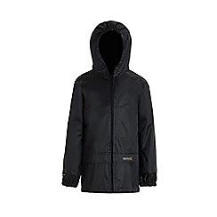 Regatta - Black kids stormbreak jacket