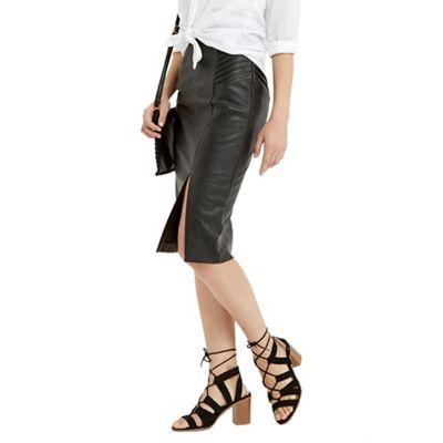 467c6ef04 Oasis Pintuck Wrap Pencil Skirt   Debenhams