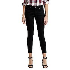 Oasis - Black Isabella skinny crop jeans