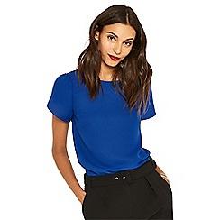 Oasis - Mid blue petal sleeve t-shirt