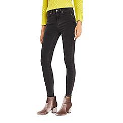 Oasis - Grey 'Lily' skinny ankle grazer jeans