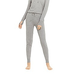 Oasis - Grey knitted joggers