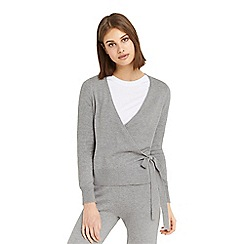 Oasis - Grey ballet knitted wrap