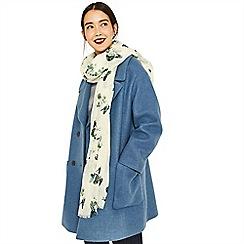 Oasis - Multi green greenhouse print scarf