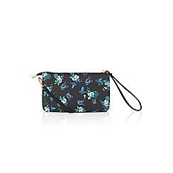 Oasis - Multi blue greenhouse mini xbody bag