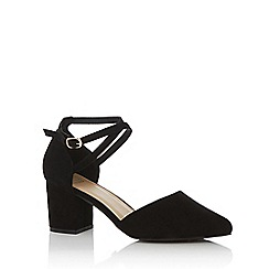 Oasis - Black 'Ruth' block heels shoes