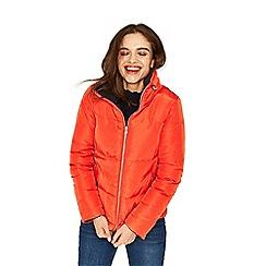 Oasis - Navy and Orange 'Rachel' reversible padded jacket