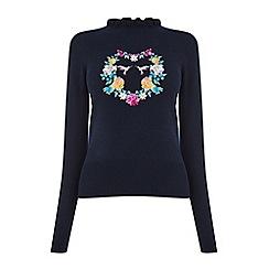 Oasis - Illustrator heart knit