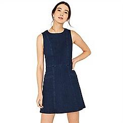 Oasis - Denim cutabout shift dress