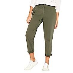 Oasis - Khaki chino trousers