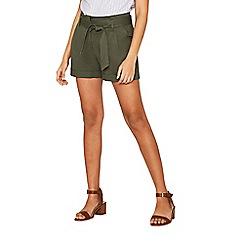 Oasis - Khaki casual shorts