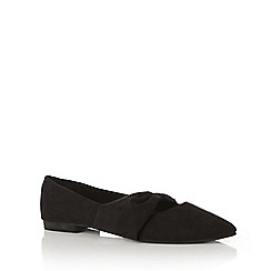 Oasis - Bow centre flat shoes