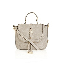 Oasis - Mid grey 'Steffi' satchel