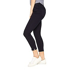 Oasis - Navy 'Grace' capri jeans