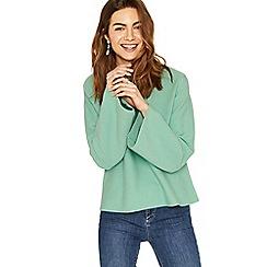 Oasis - Mint bell sleeve knit