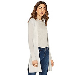 Oasis - White edge to edge cardigan