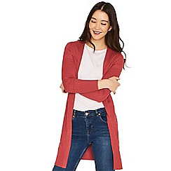 Oasis - Pink edge to edge cardigan
