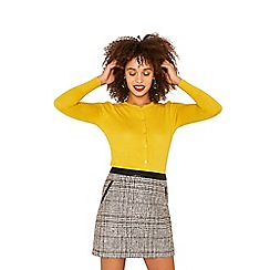 Oasis - Bright yellow crew cardi