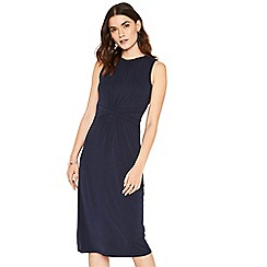 Oasis - Navy grecian midi dress