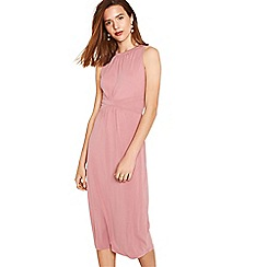 Oasis - Pale pink grecian midi dress