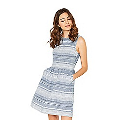 Oasis - Multi stripe skater dress