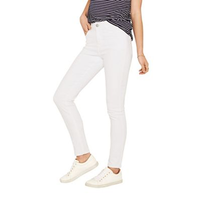 Oasis   White 'jade' Skinny Jeans by Oasis