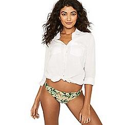 Oasis - Multi pink 'Aymee' bikini bottoms