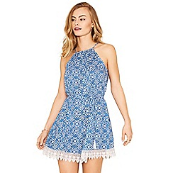 Oasis - Apollonia tile print dress
