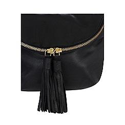 Oasis - Black leather 'Laura' crossbody bag