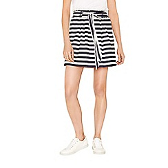 Oasis - Stripe paperbag skirt