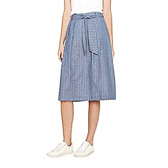 Oasis - Multi stripe midi skirt