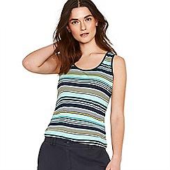 Oasis - Multi 'Napoli' stripe vest