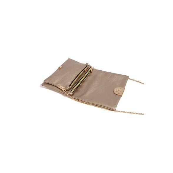 Metallic cross Oasis bag 'Ellie' pewter body 8dpxWqBp