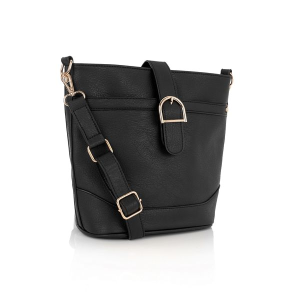 Black Oasis Oasis 'Bonnie' bucket bag Black 4Pwq7EE