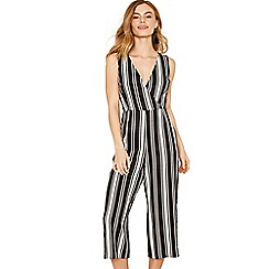 Oasis - V neck stripe jumpsuit