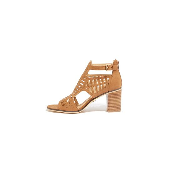 block heels 'Carly' Oasis Tan out cut wW0nU0ISq