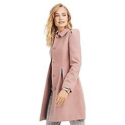 Oasis - Mid pink 'Angelique' princess coat
