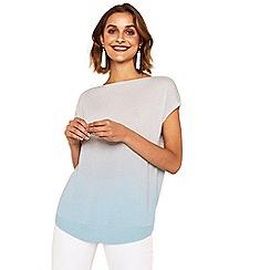 Oasis - Mint ombre knit t-shirt