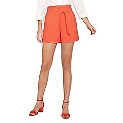 Oasis - Red orange colour suit shorts