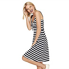 Oasis - Knot front stripe sundress