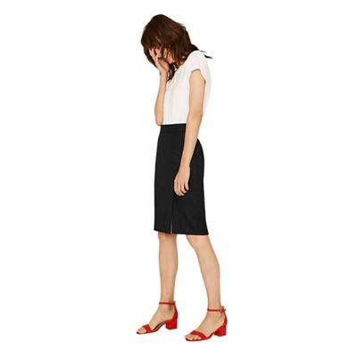 Oasis   Black Workwear Skirt by Oasis