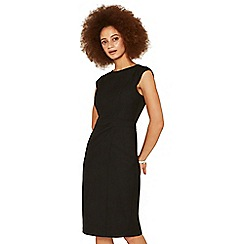 Oasis - Black workwear dress