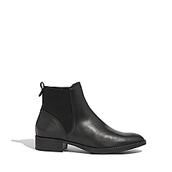 Oasis - Black 'Aimee' leather chelsea boots